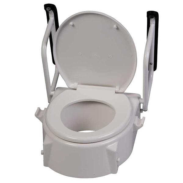 Behrend Toilettensitzerhöher, Armlehnen, höhenverstellbar
