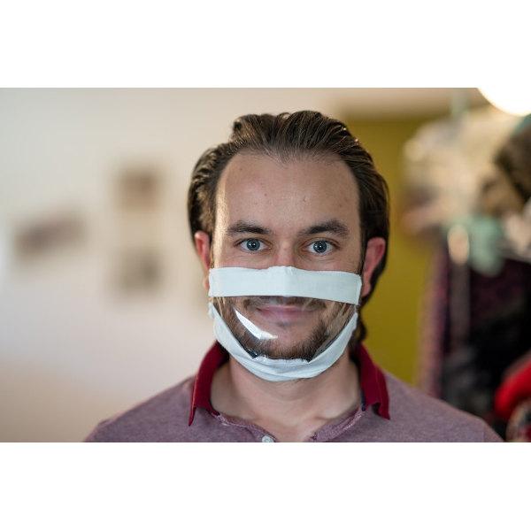VISIMASK - Die durchsichtige Maske für Gehörlose