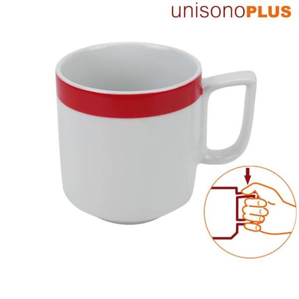 unisonoPLUS Porzellan-Becher