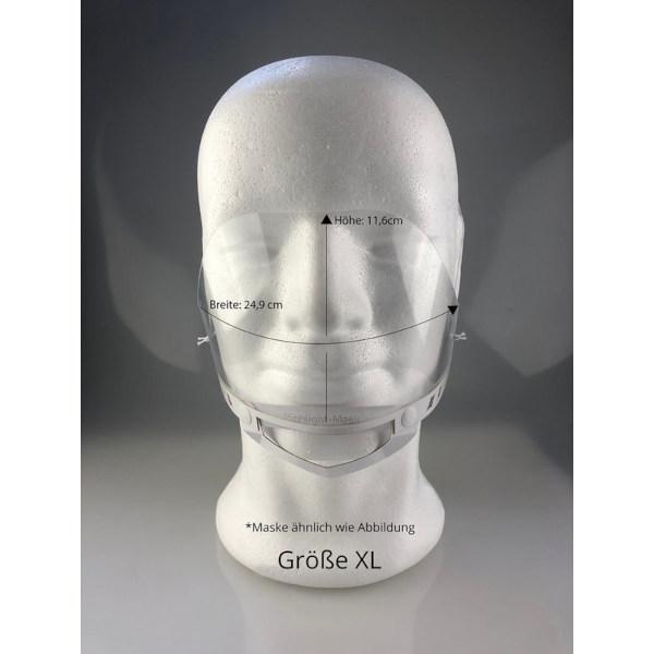 Mund- Nasenbedeckung Größe XL