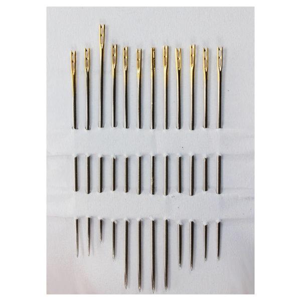 Spezial-Nadeln für einfaches Einfädeln Genius Ideas Magische Nadeln