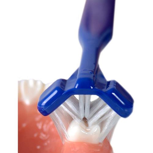 Dr. Barmans Superbrush Dreikopf-Zahnbürste