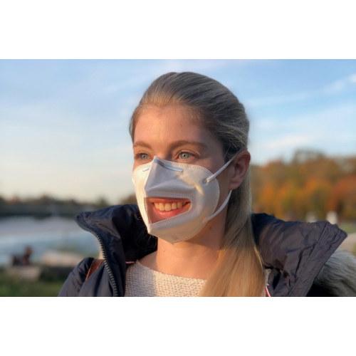 VISIMASK 2.0 - Corona Schutzmaske mit Sichtfenster