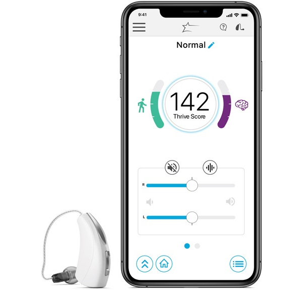 Thrive Hearing Control App