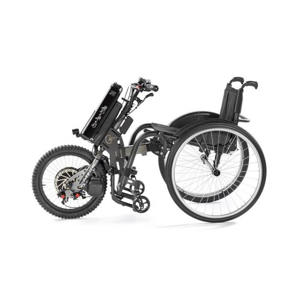 BATEC ELECTRIC 2 - an Rollstuhl montiert