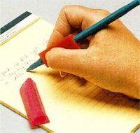 Schreibgriffe, dreieckig