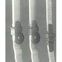Reziproke Gehorthese, Hüftgelenkschiene / Reziproke Gehorthese, Kniegelenkschiene mit Fallschloss