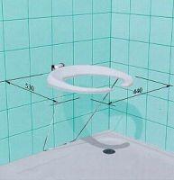 Duschklappsitz für Wandmontage