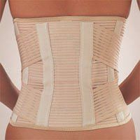 Select Stabilo Rückenbandage ohne Pelotte / Select Stabilo Rückenbandage mit Pelotte