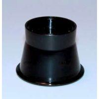 Uhrmacherlupe mit optisch geschliffenen Gläsern / Steinlupe / Graveur-Lupe