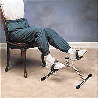 Pedaltrainer mit einfacher Verstrebung
