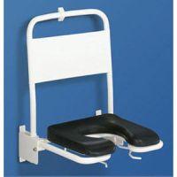 Duschsitz mit Rückenlehne und Armstützen