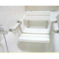 Einhängesitz für Badewanne, mit Rückenlehne