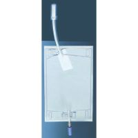 Urin-Beinbeutel mit fest montiertem Adapter