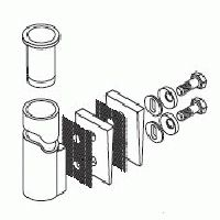 Sure-Flex 30 mm Glasfaserrohrset / Sure-Flex Rohreinsatz für 30 mm Rohr