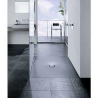 bodengleiche Duschfläche aus Stahl/Email
