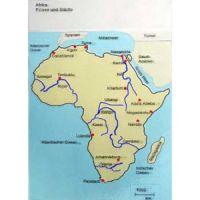 Reliefkarte Afrika