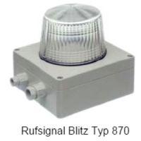 Bezet Rufsignal Blitz Typ 870, IP 65