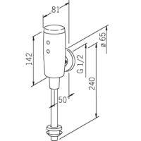 HANSAELECTRA Urinalsteuerung, 6 V