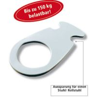 Toilettenbrett Delphin weiß