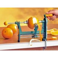 Orangenschäler aus Metall