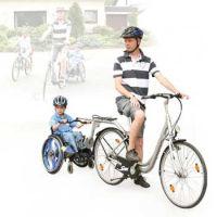 Fahrrad Rollstuhl Tandem Speedy-Tandem
