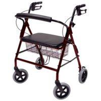 Adicare Rollator, breiter Sitz, <227 kg