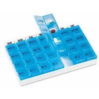 Pillenbox mit Tageseinsätzen