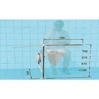 Sicherheits-WC-Stützgestell für Menschen mit Gehhilfe (z.B. Rollator)