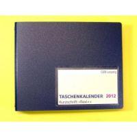 Taschenkalender Flexi, Kurzschrift<br />Nachfüllpack