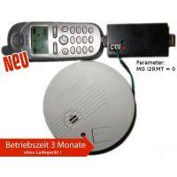 Handy Brandmelder Rauchmelder GSM Anruf SMS