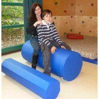 Gymnastikrolle, rund, fester Schaumstoff