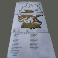 Taktile Landkarten - Deutschland / Taktile Landkarten - Österreich / Taktile Landkarten - Bundesland Rheinland Pfalz