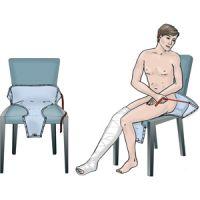 Anziehhilfe für Klettverschluss