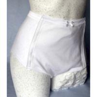 Damenslip mit Klettverschluss, geeignet für Einlagen