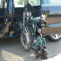 Rollstuhlverladehilfe Ladeboy S2