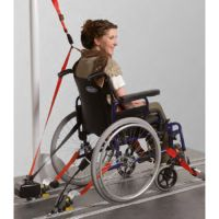 Rollstuhlrückhaltesystem