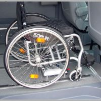 Elektrische Rollstuhlhalterungen