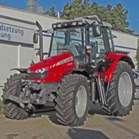Traktor für Menschen mit Behinderung