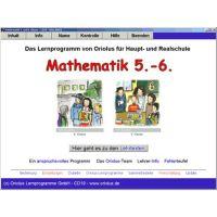 Trainingsprogramm Oriolus Mathematik 5. und 6. Klasse