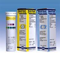 Harn-Teststreifen Medi-Test Glucose/Keton
