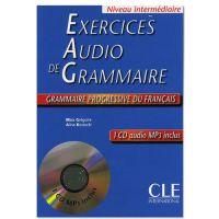 Exercices audio de la Grammaire progressive du français