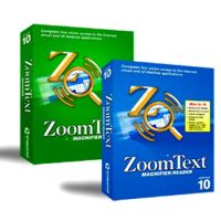 Vergrößerungssoftware Zoom Text 11 Magnifier