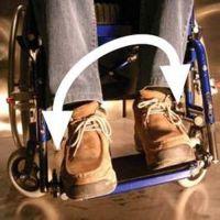 Dynamische Beinstütze für Personen mit spastischer Erkrankung