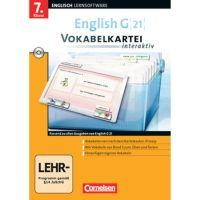 English G 21 - Vokabelkarteien interaktiv, Band 3