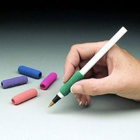 Schreibgriffe aus Schaumstoff