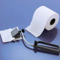 Toilettenpapierzange