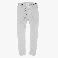 Lange Unterhose - Quereingriff, Weiß 4650