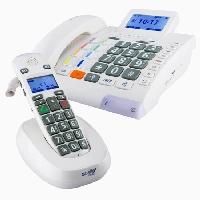 Scalla-3 Combo Großtastentelefon mit Sprachfunktion