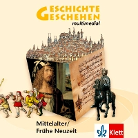 Lernsoftware Geschichte und Geschehen multimedial - CD 2 Mittelalter und Frühe Neuzeit